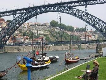 Oporto's Dom Luis I Bridge
