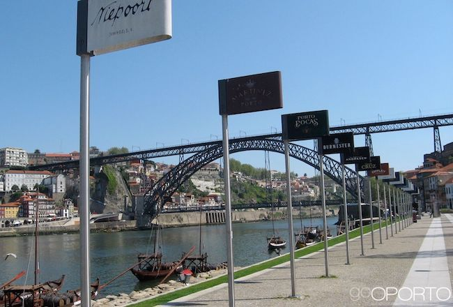 Port Wine lodges in Porto, Portugal
